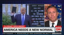 Chris Cuomo claims Trump is trying to 'con Christians' with religious photo ops