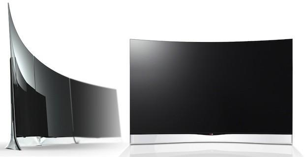 LG will launch the world's first 55-inch curved OLED HDTV (update)