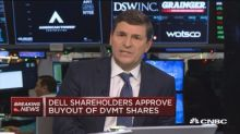 Dell shareholders approve buyout of DVMT shares