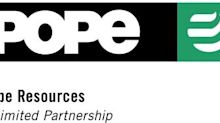 Pope Resources Announces Unitholder Approval of Merger with Rayonier