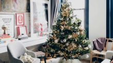 Expert advice for setting up your Christmas tree mess-free