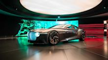 All about the Bentley EXP 100 GT (live photos & videos)