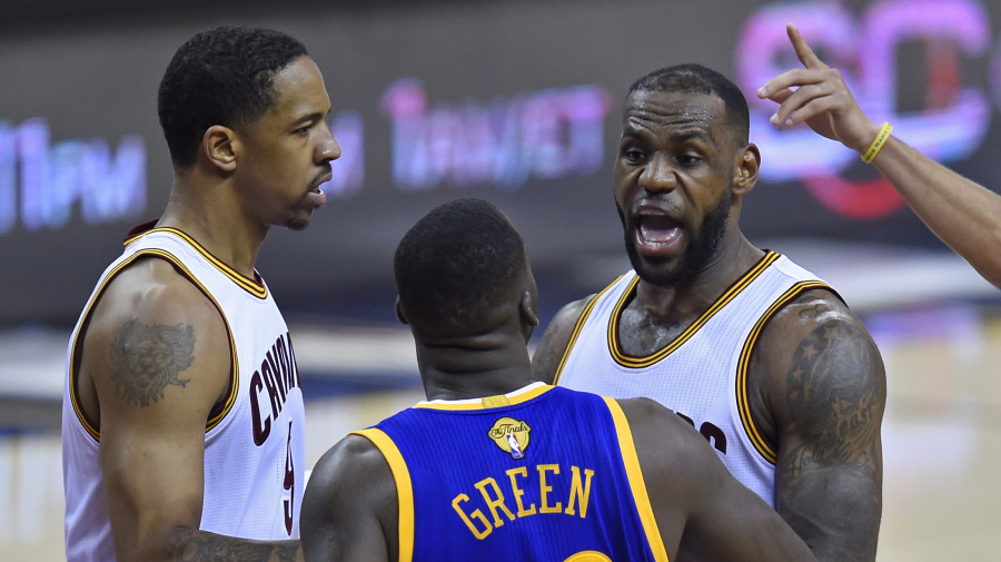 What if Dray never hit LeBron in groin in 2016?
