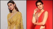 Mouni Roy Vs Kriti Sanon- Who Looked SEXIER In Saree?