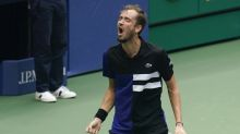 The Latest: 2019 runner-up Medvedev into US Open semifinals