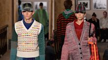Kaia and Presley Gerber, Cindy Crawford's model kids, share catwalk together for first time at Burberry