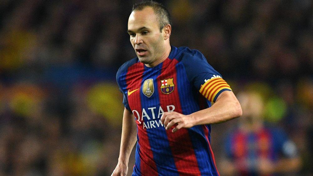 Vor Stadt-Derby: Barcelona bangt um Andres Iniesta