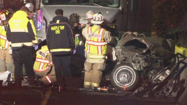 Wrong way car leaves 2 dead on Blue Route in Marple Township
