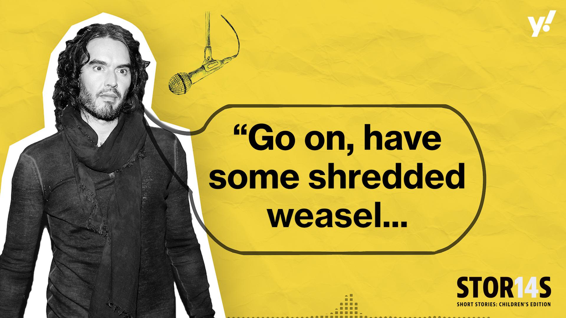 Sneak peek: Russell Brand reads Aargh! There's a Monster in my School!