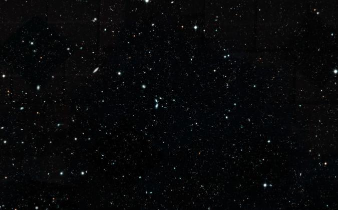 NASA, ESA, G. Illingworth and D. Magee (University of California, Santa Cruz), K. Whitaker (University of Connecticut), R. Bouwens (Leiden University), P. Oesch (University of Geneva) and the Hubble Legacy Field team
