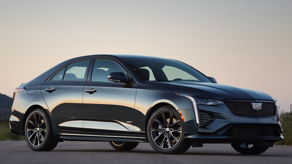 First Drive: The New Cadillac CT4-V Sports Sedan Handles Like a Supercar