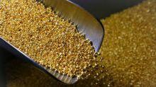 METALES PRECIOSOS-Oro cae a mínimo en más de dos semanas por alza del dólar y mercados bursátiles