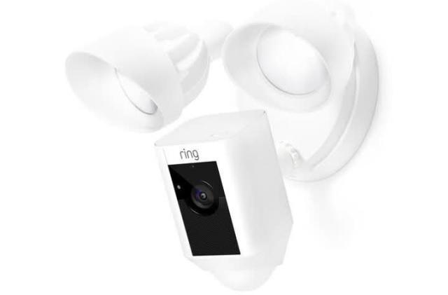 Ring intros a (kinda) wireless floodlight security camera