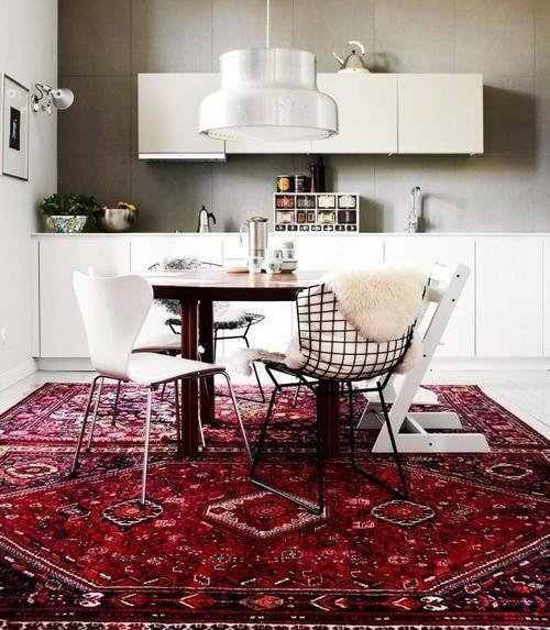 A Persian Rug In Your Kitchen?