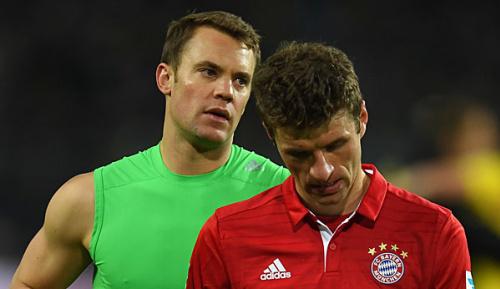 Champions League: Vor Hit gegen Madrid: Neuer und Müller wieder im Mannschaftstraining