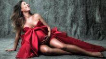 """Giselle Itié mostra barrigão em ensaio de gravidez: """"Essa sou eu"""""""