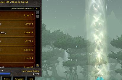 Warlords of Draenor: Guild leveling and guild perk changes
