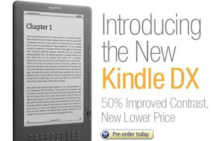 Graphite Kindle DX coming July 7th for $379, now available for pre-order