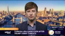 Turkish lira gains even after Trump tariff threats