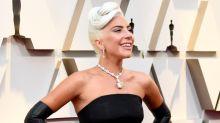 Lady Gaga Channels Audrey Hepburn With Massive Diamond On Oscars Red Carpet