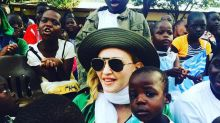 Madonna and All 4 of Her Kids (Yes, Rocco, Too) Visit Malawi