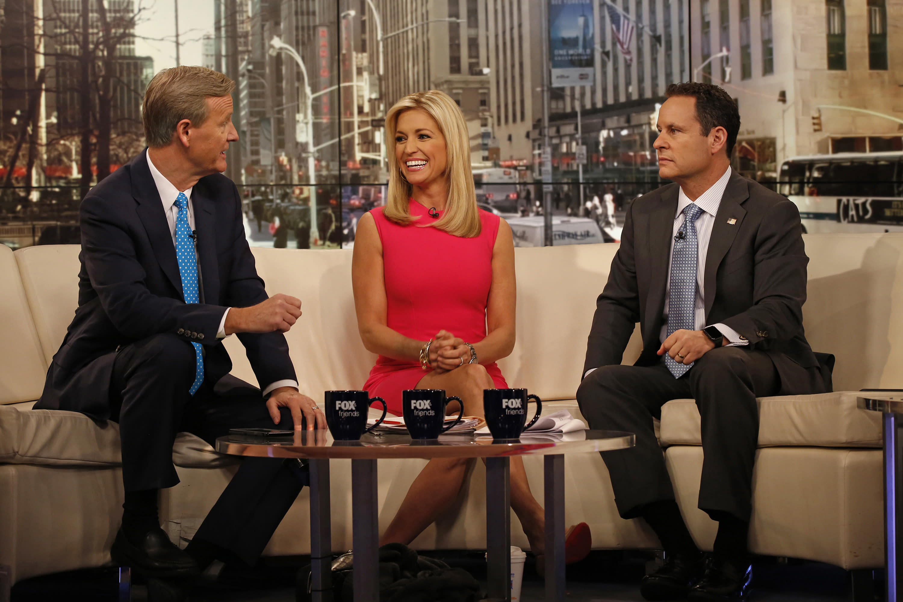 Trump, as promised, returns to 'Fox & Friends' Monday