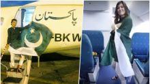 Polish Tourist's Kiki Challenge on PIA Plane to Celebrate Pakistan Independence Day Goes Viral; NAB Slams the National Flag Carrier