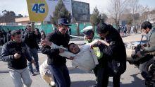 Suicide bombing kills dozens in Kabul, Afghanistan
