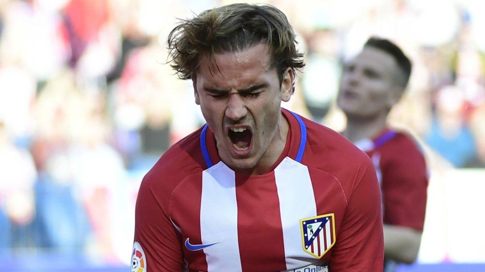 Desapercibido en la victoria - Así fue el partido de Griezmann ante el Málaga