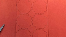 This teacher accidentally created an optical illusion while doing arts and crafts with his students — can you see it?