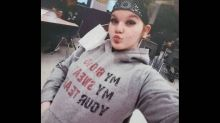 'My Body, My Sweat, Your Tears.' Amber Alert for girl, 11, wearing distinctive hoodie