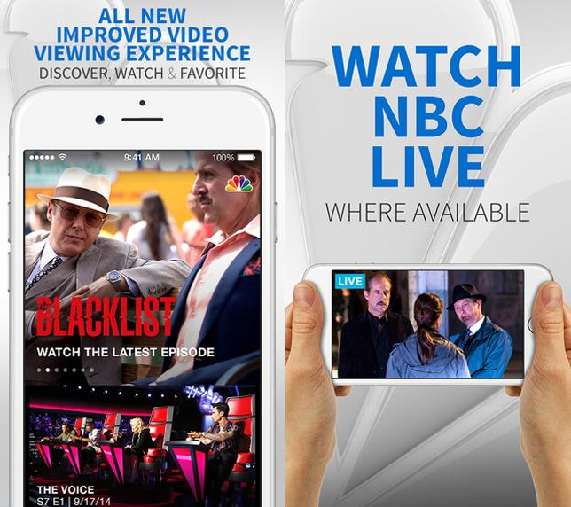 Stream TV shows live from NBC's official app on your phone