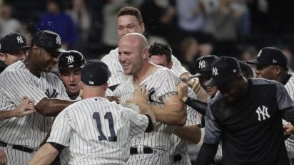 Yankees homer their way to an epic comeback