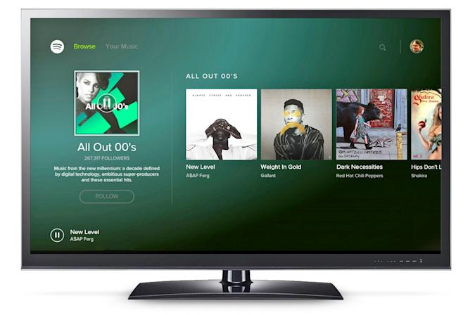 Spotify comes to Android TV
