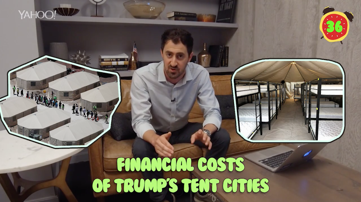 Business + Coffee: EU, India hit US with tariffs, Trump's tent cities, Starbucks plunges