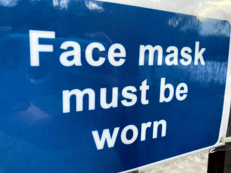 A face mask requirement at indoor and outdoor public places will take effect on Oct. 1 in Alexandria.