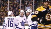 Leafs build 4-1 lead in Boston, survive it