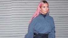 Consejos para llevar el pelo rosa como Kim Kardashian