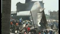 Plane crash in Indonesia kills at least 37