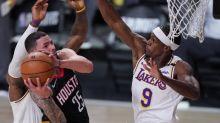 Plaschke: Playoff Rajon Rondo makes Lakers scary good