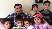 Syrian father of 6 speaks of year of successes and struggles