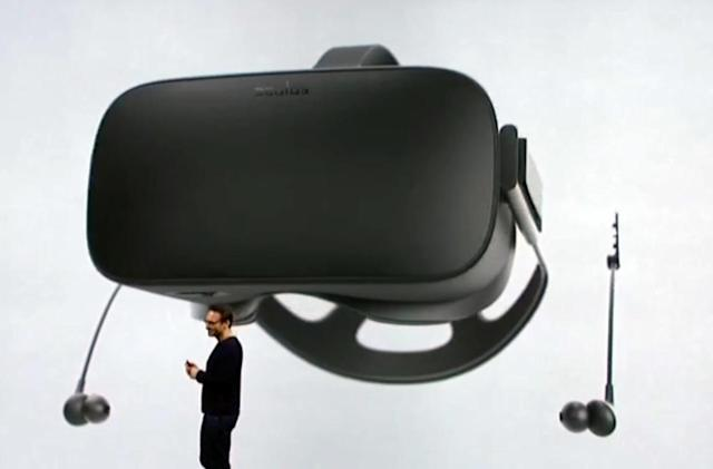 Oculus to offer earbuds for the Rift headset