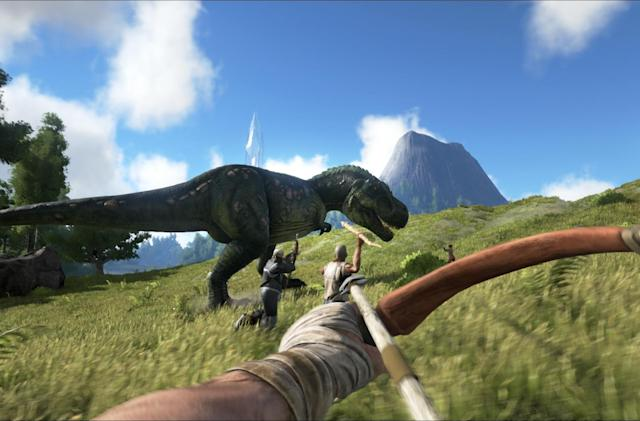 'Ark: Survival Evolved' stomps its way onto PS4 next week