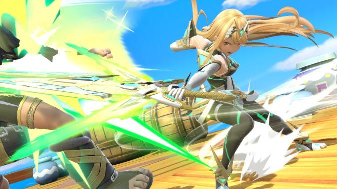 Mythra in Super Smash Bros. Ultimate
