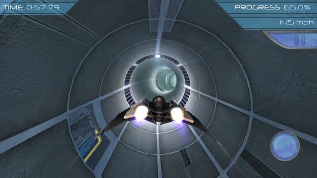 Air Race Speed: Futuristic jet racing with stellar controls