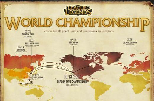 League of Legends' World Championship is worth a cool three million bucks