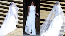 Where you can buy affordable versions of Meghan Markle's wedding dresses