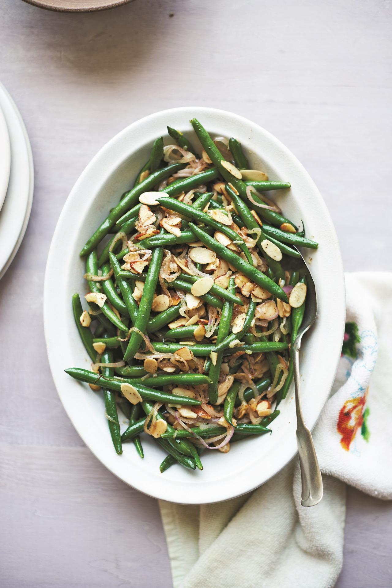 Green beans with toasted almonds from the chef next door forumfinder Image collections