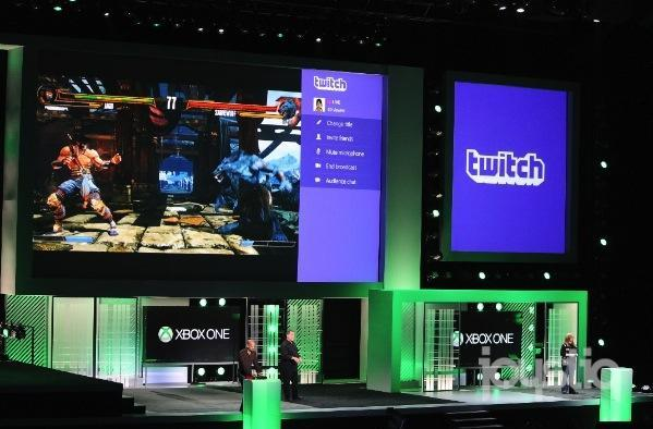 Twitch streaming integrated into Xbox One