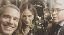 Sarah Jessica Parker Takes in a Broadway Show With BFF Andy Cohen and Hubby Matthew Broderick